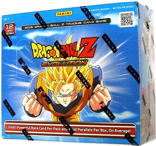 dbz evolution booster box 2015 dragonball z tcg juego cartas