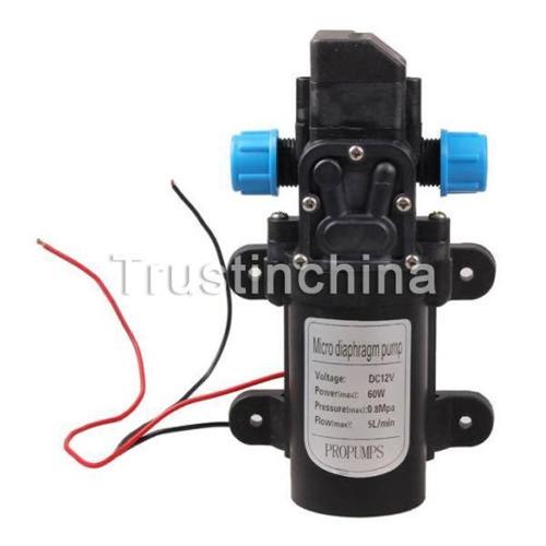 dc 12v 60w diafragma micro mini alta presión agua bomba auto