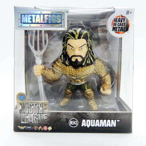 dc aquaman justice league metalfigs die cast metal jada cole
