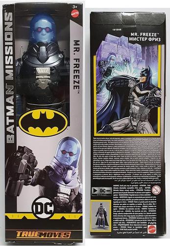 dc batman missions mr. freeze 30cm mattel fvm76