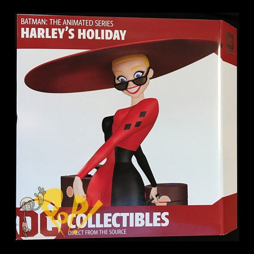 dc collectibles batman animated series holyday harley quinn