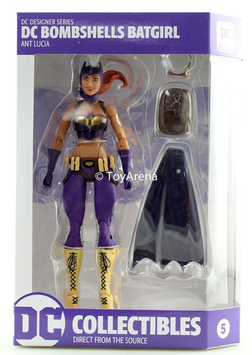 dc collectibles - bombshells designer series batgirl