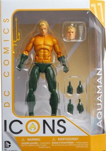 dc collectibles  dc comics icons aquaman by ivan reis