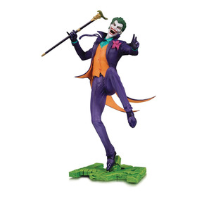 Dc Collectibles Dc Core: The Joker Pvc Statue