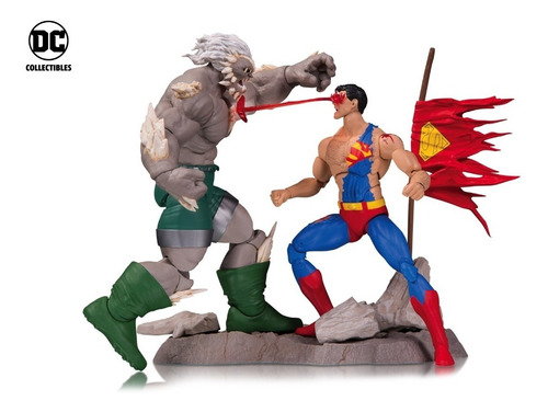 dc collectibles - dc icons - death of superman deluxe set