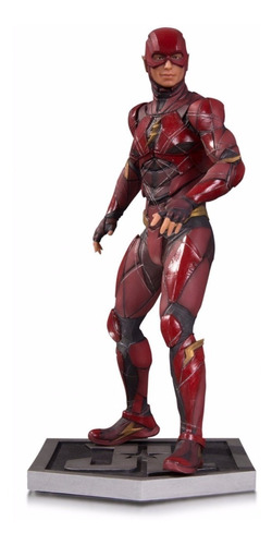 dc collectibles justice league movie the flash statue