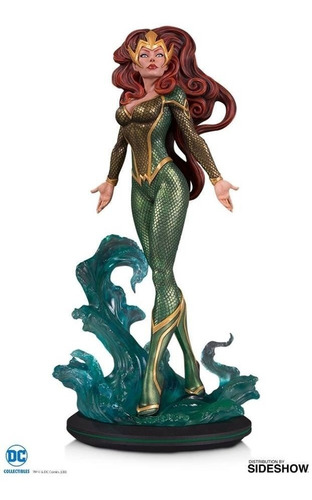 dc collectibles - mera cover girls statue - by joelle jones