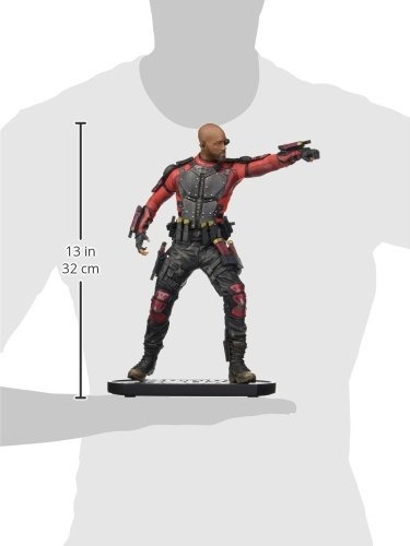 dc collectibles suicidio squad: estatua de deadshot