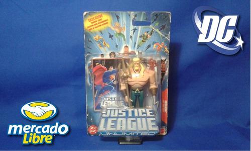 dc comic aquaman justice league unlimited mattel