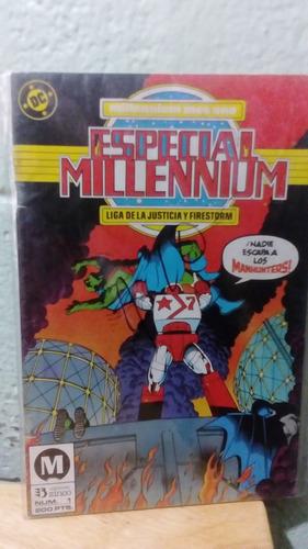 dc comic especial millenium en español # 1 editorial zinco