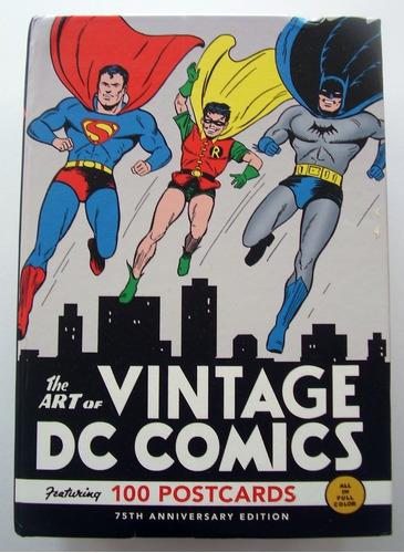 dc comics 100 tarjetas postales
