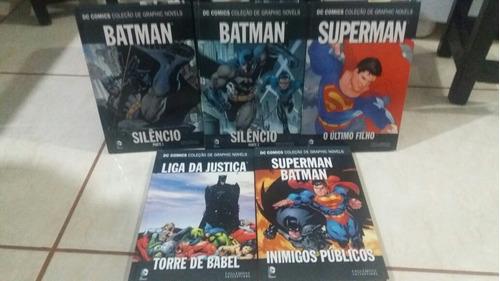dc comics  5 volumes!