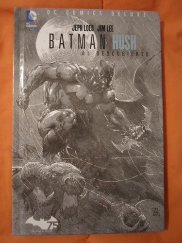 dc comics absolute batman hush pasta dura comleto