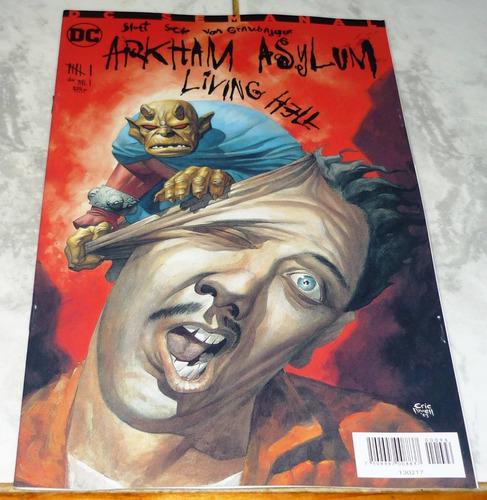 dc comics arkham asylum #6