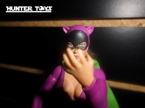dc comics, batman, catwoman, gatubela, figura dc universe