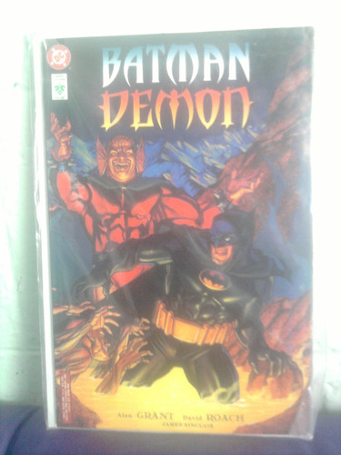 dc comics batman demon vintage vid en español