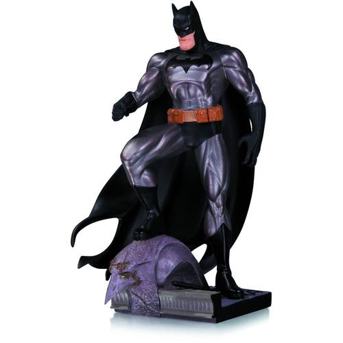 dc comics batman metálico mini estatua de jim lee