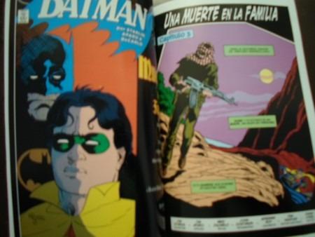 dc comics batman muerte en la familia 2 tomos latino