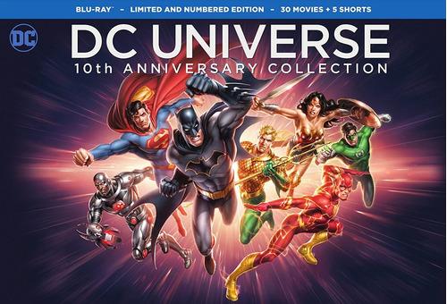 dc comics coleccion bluray (30 discos)