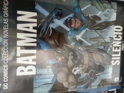 dc comics -colección novelas graficas -salvat - hay stock