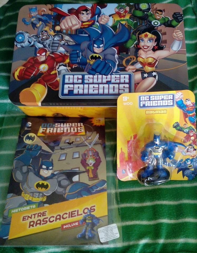 dc comics coleccion super friends muñecos del.comercio.