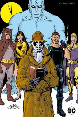 dc comics deluxe watchmen sellado español nueva edicion