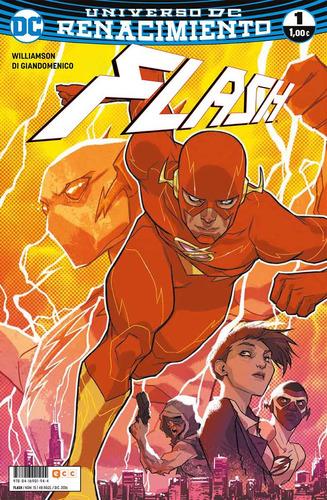 dc comics - flash renacimiento del 1 al 3 - en español