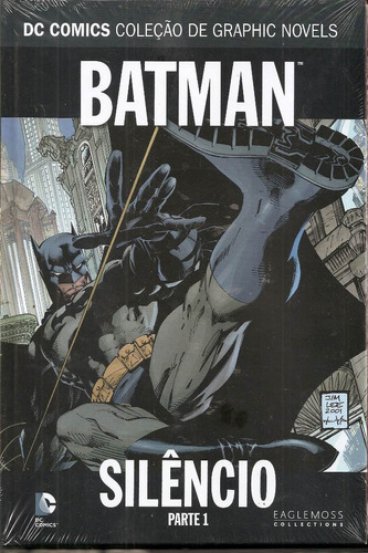 dc comics graphic novels - batman silêncio parte 1