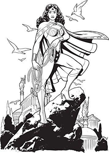 Dc Comics Mujer Maravilla Libro Para Colorear - $ 107.200 en Mercado ...
