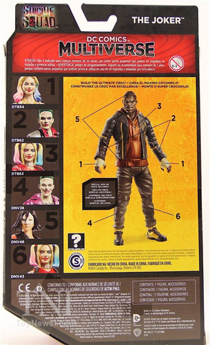 dc comics multiverse suicide squad joker variant