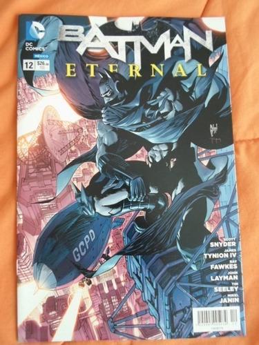 dc comics new52 batman eternal latino 1 al 12