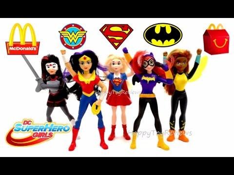 dc comics super hero girls mcdonald´s