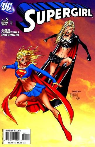 dc comics supergirl #5 variante marzo 2006 en ingles