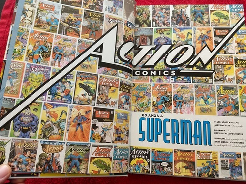 dc comics superman 80 años latino tapa dura-140000