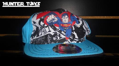 dc comics, superman, gorra, snapback de niño, tel.35846340