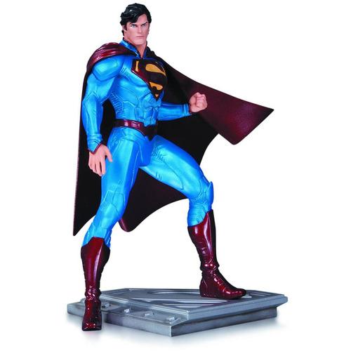 dc comics superman hombre de acero estatua por cully hamner
