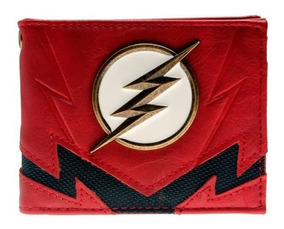 668f054b Dc Comics The Flash Billetera Monedero Rojo Y Negro
