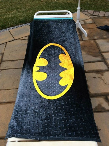 dc comics - toalla de playa batman