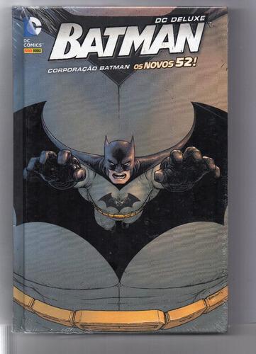 dc deluxe: batman - corporação batman - os novos 52