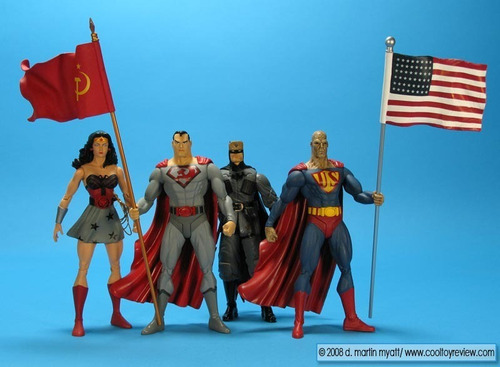 dc direct elseworlds superman red son box set nuevo !!