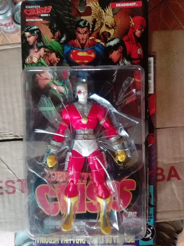 dc direct identity crisis deadshot batman green arrow