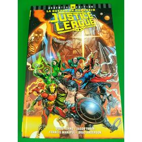 Dc Essential Justice League Darkseid War Tapa Dura Latino