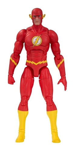 dc essentials flash figura - dc collectibles - robot negro