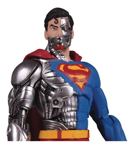 dc essentials superman  cyborg