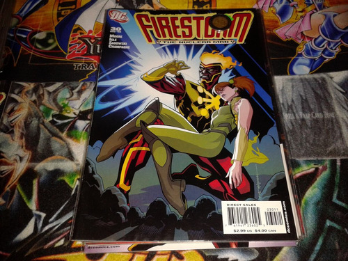dc firestrom #30 2006 comic nuevo en ingles.