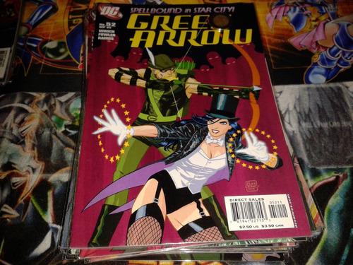 dc green arrow #52 2005 comic nuevo en ingles.