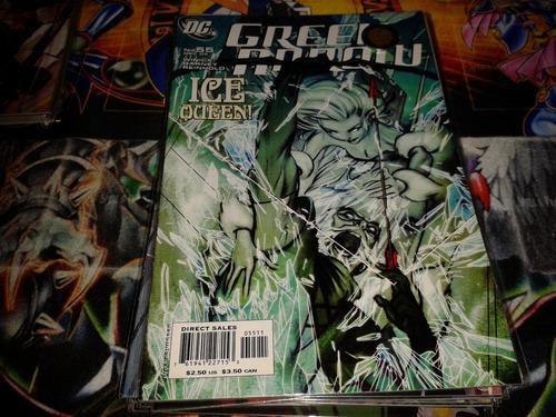 dc green arrow #55 2005 comic nuevo en ingles.
