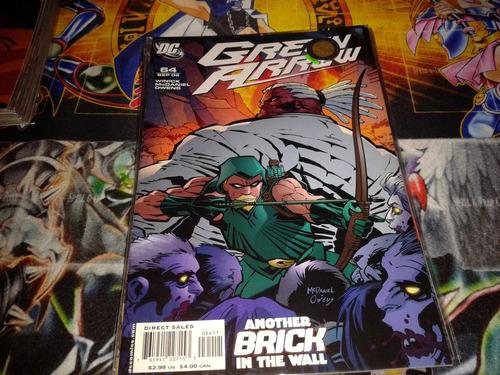 dc green arrow #64 2006 comic nuevo en ingles.