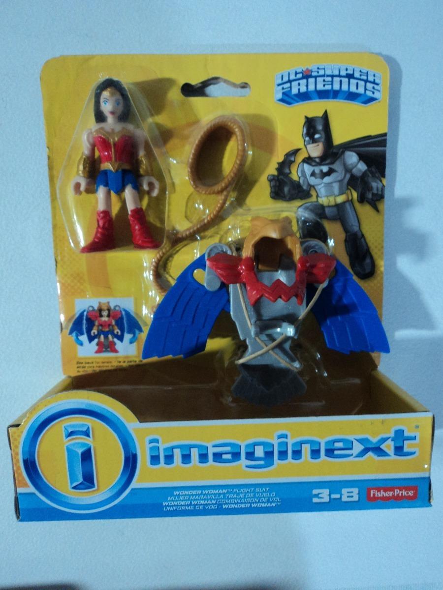 NEW Imaginext Wonder Woman w//Flight Suit Fisher-Price DC Super Friends Figures