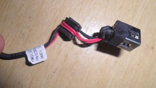 dc jack com cabo para lenovo ideapad g470 g475